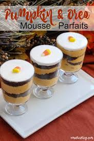 Pumpkin Mousse Trifle by Pumpkin And Oreo Mousse Parfaits Now With It U0027s A Mother