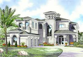 100 Mediterranean Architecture Design Luxury House Plan 32058AA Architectural S