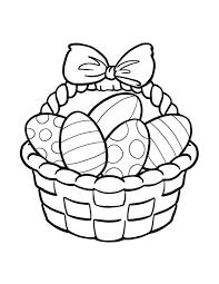 Easter Egg Clip Art Black and White