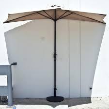 Walmart Patio Tilt Umbrellas by Patio Ideas Jordan Half Patio Umbrella Base Half Patio Umbrella