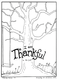 Biblical Thanksgiving Color Pages Christian Printable Coloring Free In Kids Full Size