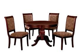 Amazon.com - Furniture Of America Bernette 5-Piece Round Dining ... Vintage Kitchen Table And Chairs Set House Architecture Design Shop Greyson Living Malone 70inch Marble Top Ding Westlake Transitional Cherry Wood Pvc Leg W6 The 85ft W 6 Forgotten Fniture Homesullivan 5piece Antique White And 401393w48 Plav7whiw Rubberwood 7piece Room Free Shipping Cerille Rustic Brown Of 2 By Foa Amazoncom America Bernette Round East West Niwe6bchw Pc Table Set With A
