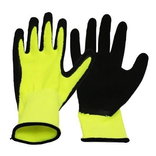 Boss Gloves Ladies Neon Knit Work Gloves - Neon, Small