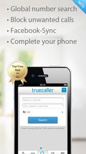 TrueCaller iPhone App A e stop Spam Buster for All In ing Calls