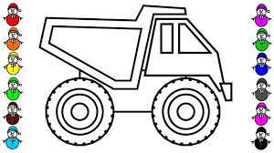 Learn Color With Construction Truck Coloring Pages, Vehicles ... Learn Colors With Dump Truck Coloring Pages Cstruction Vehicles Big Cartoon Cstruction Truck Page For Kids Coloring Pages Awesome Trucks Fresh Tipper Gallery Printable Sheet Transportation Wonderful Dump Co 9183 Tough Free Equipment Colors Vehicles Site Pin By Rainbow Cars 4 Kids On Car And For 78203