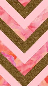 Glitter and Pink Watercolor Chevron Tap to see more Beautiful