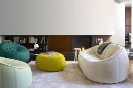 design hocker stapelbar rund aus holz schöner wohnen