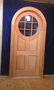 Custom Solid Wood Interior Black Wooden Front Door Stunning External