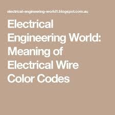 die besten 25 electrical wiring colours ideen auf pinterest