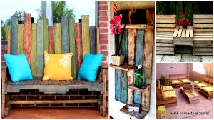 Learn How To Make Useful Furniture From Wooden Pallets With These