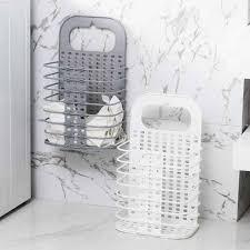 faltbare kunststoff her lagerung korb haushalt badezimmer wand hängen wäsche korb schlafzimmer dressing korb