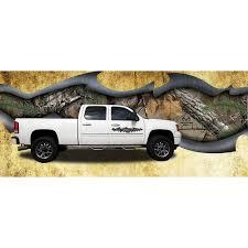 100 Realtree Truck Torn Metal Graphic