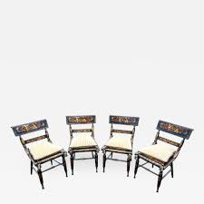 Set Of Four American Fancy Chairs, Baltimore Circa 1820'S | Products ... Standard Fniture Pendwood 5 Piece Round Table Ding Side Chairs Mahogany Chippendale Room Caracole Sterling Reputation Chair Roznin Antique Styles Centimet Decor Details About Set Of 2 Soft Grey Casual Seats Fancy Living Offwhite Sutton House With Pedestal By Bernhardt At Dunk Bright Florence Rectangular Double 9 Spindle Bowback Carmen Franco Spain Luxury And Uk Images Pictures Memory Foam Seat Cushion For Office Covers