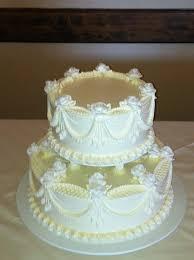traditional buttercream wedding cakes photo 8