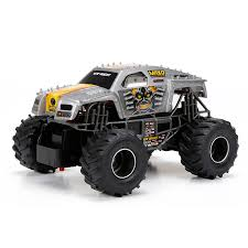 New Bright Remote Control 1:24 Monster Jam Truck - Assorted | Toys ... Daymart Toys Remote Control Max Offroad Monster Truck Elevenia Original Muddy Road Heavy Duty Remote Control 4wd Triband Offroad Rock Crawler Rtr Buy Webby Controlled Green Best Choice Products 112 Scale 24ghz The In The Market 2017 Rc State Tamiya 110 Super Clod Buster Kit Towerhobbiescom Rechargeable Lithiumion Battery 96v 800mah For Vangold 59116 Trucks Toysrus Arrma 18 Nero 6s Blx Brushless Powerful 4x4 Drive