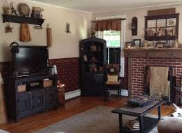 primitive decorating ideas for living room with simple old