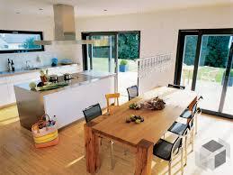 küche mit großem essbereich küche grundriss offene küche