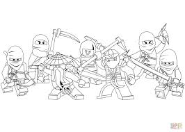 Click The Lego Ninjago Coloring Pages To View Printable Version Or Color It Online Compatible With IPad And Android Tablets