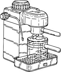 Coffee Machine Espresso Free Vector Graphic On Pixabay