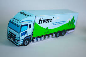 100 Paper Truck Put Your Logo Or Image To A Paper Truck Fuso Sg By Zets48