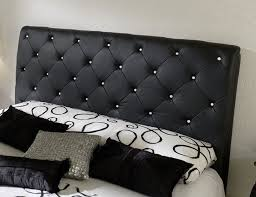 Black Leather Headboard California King by Best Black Upholstered Headboard King Black Leather Headboards