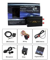 Amazon Sourcingbay Vehicle Car GPS Tracker 103A GPS GSM GPRS System Quad band Real time Google Map Tracking Sports & Outdoors