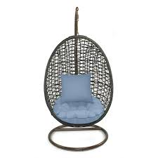Patio Heaven Skye Bird s Nest Swing Chair with Stand & Reviews
