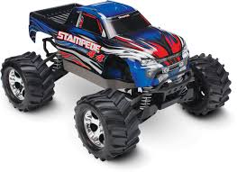 100 Blue Monster Truck Traxxas Stampede 4X4 LCG 110 RTR