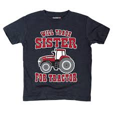 Case IH Will Trade Sister For Tractor Toddler Tee — Country Casuals