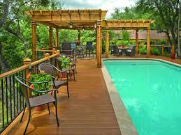 Patio And Deck Combo Ideas by Above Ground Pool Deck Pictures Ideas Above Ground Pool And Deck