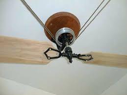 Belt Driven Ceiling Fan Diy by Ceiling Fan Diy Pulley Ceiling Fan Pulley Ceiling Fans Pulley