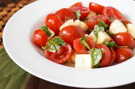 cuisine cherry cherry tomato caprese salad tara s multicultural table