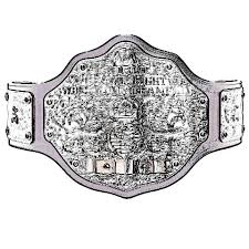 WWE Championship Belt Coloring Pages