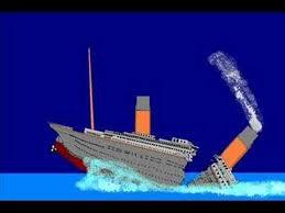 titanic sinking old youtube