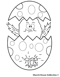 Easter Bunny Printable Coloring Pages Chick