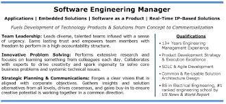 Product Manager Sample Resume Account Communication Marketing