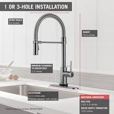 Delta Faucet 9178 Ar Dst Manual by Delta Faucet 9659t Ar Dst Trinsic Pro Single Handle Pull Down