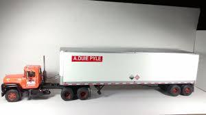100 A Duie Pyle Trucking Mack R With Fruehauf Van Trailer Picture Heavy Under Glass Big