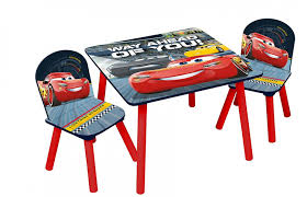 Cars 3 Wooden Table & Chairs Set