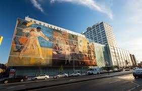 Harlem Hospital Mural Pavilion by Hhc Harlem Hospital Center Receives National Recognition For