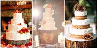 Country Wedding Cakes Rustic Tree Stumps For Your Cake Toppers