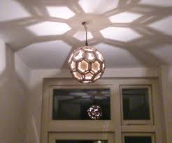 Laser Cut Lamp Dxf by Lasercut And 3d Printed Truncated Icosahedron Lamp Shade 4 Steps