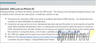 Sprint to Lock iPhone 4S SIMs Starting November 11th Mac Rumors