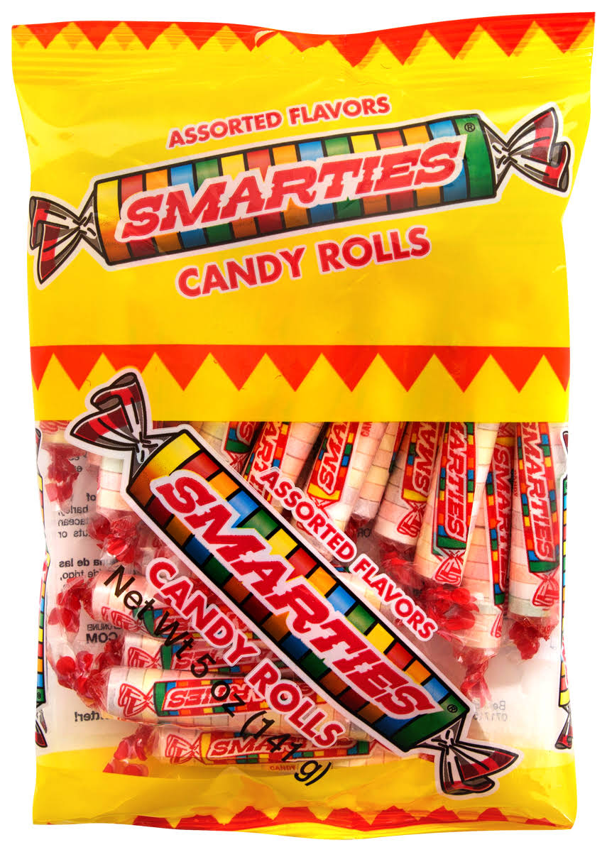 Smarties Candy Rolls 5-oz