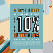 Three Days Only: Save 10% On Textbooks!*... - The University ... 77 Yeti Casino Extra Spins In December 2019 Claim Now Gta Water Coupon Airsoft Gi Coupons Promotional Codes 20 Off Gliks Promo Discount Wethriftcom 15 Off Storewide At Skate Warehouse Free Code Cooler Sale Where To Find Bag Deals Money Rambler 12oz Bottle With Hshot Cap Islanders Outfitter Personalized Cancer Awareness Decal Any Color Vaporjoescom Vaping And Steals Yeti Blowout Buy Cyber Monday Newegg Deals Pc Gamer On Twitter Get This Blue Microphone Bundle
