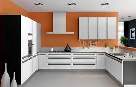 C Shaped Kitchen Decoration Idea
