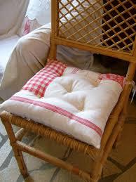 coussin de chaise capitonné photo de créations autour de la
