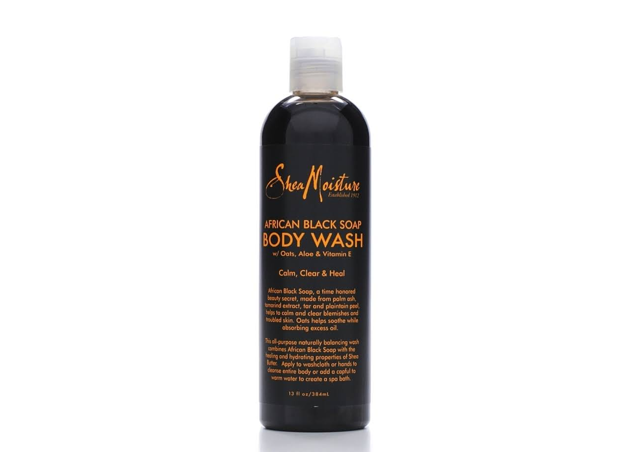 SheaMoisture African Black Soap Body Wash - 384ml