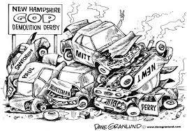 Gop Demolition Derby Nh Clipart