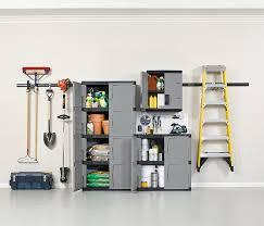 Sterilite 4 Shelf Cabinet by Amazon Com Rubbermaid 72 Inch Four Shelf Double Door Resin